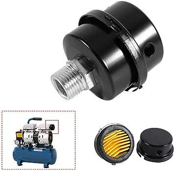 """3//4/"""" 20mm Screw Thread Silencer Noise Filter Muffler for Air Pump Compressor"""