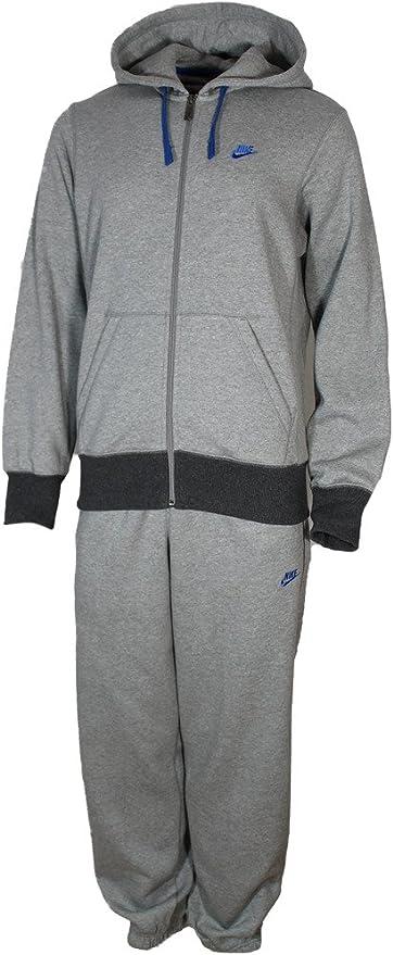 Nike - Chándal con capucha y cremallera, algodón y poliéster ...