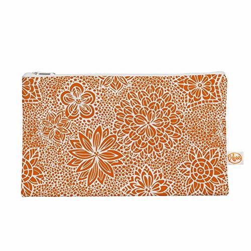 "KESS InHouse Julia Grifol ""Garden Flowers"" Orange Floral ..."