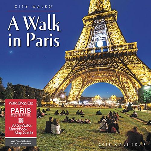 A Walk in Paris 2019 Wall Calendar
