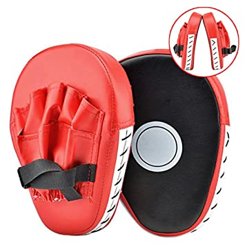 PU Pad Kinder f/ür Training Boxen Grappling Sparring Dilwe Boxhandschuhe