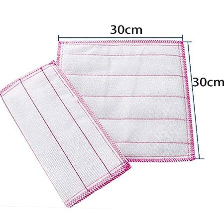Engrosamiento de algodón Hilo Scrubbing Cloth Microfibra de bambú ...