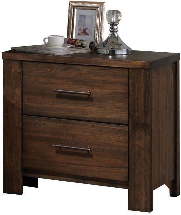 ACME Merrilee Oak Nightstand