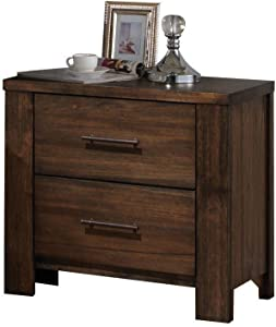 ACME Merrilee Oak Nightstand