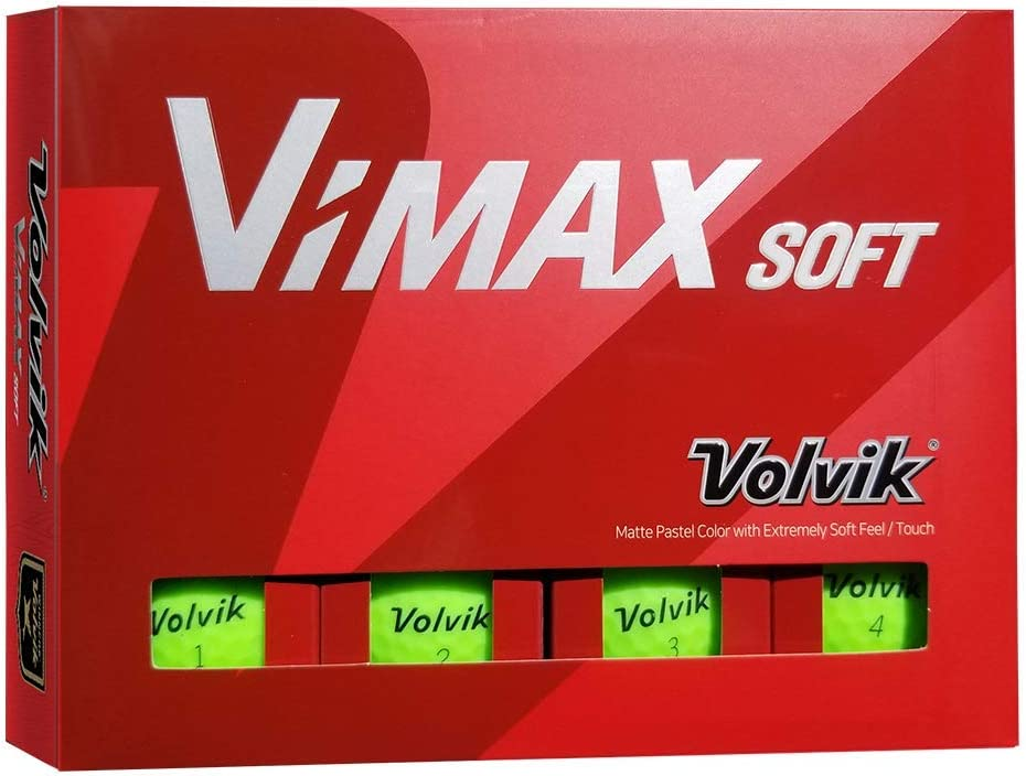 Volvik Golf VIMAX Soft Matte Finish Golf Balls