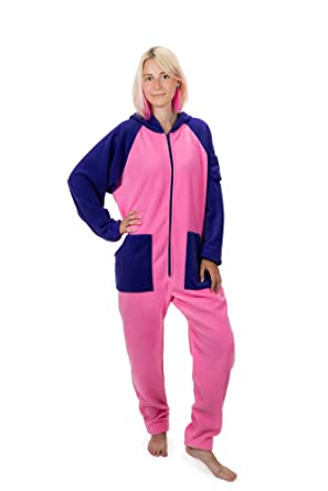 bf719ae260 Cotton Candy Go-Jamz  Adult Jumpsuit Fleece Onesie All-in-One Pyjamas