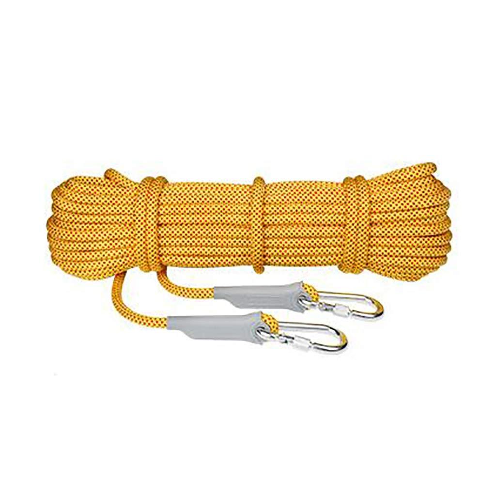 TLMYDD キャンプに適したクライミングロープRrockハイキングトレッキングマルチサイズとマルチカラーのオプション ロープ (色 : E, サイズ さいず : 10.5mm 40m)   B07RRRX7JT