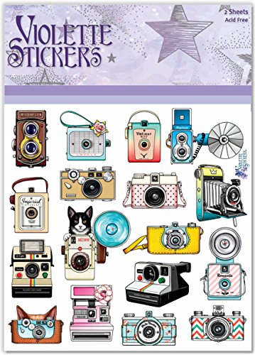 Violette Stickers Cat Cameras