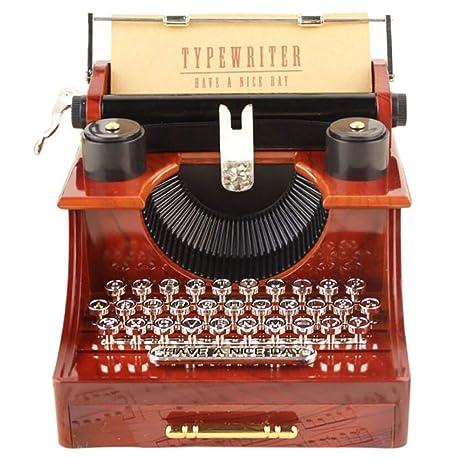 CYDKZMEPA Decoración de maquinaria de Oficina en casa de máquinas de Escribir de Calidad Exquisita clásica