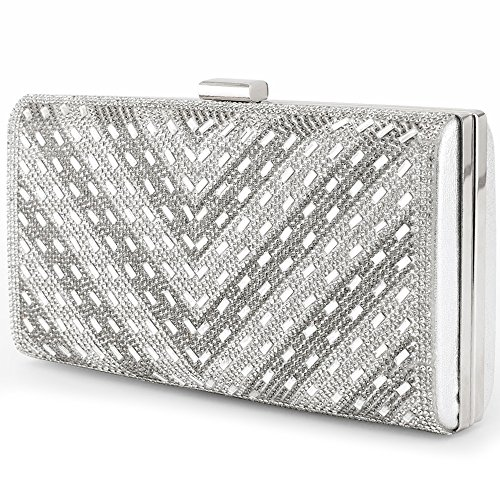 Metal Bag Hard Clutch Bags Frame 3 Handbag Case Evening Rhinestone ...