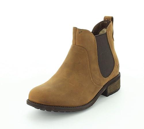 UGG Australia Women's Bonham Leather Boot (5 M US, Chestnut)