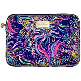 Lilly Pulitzer Women's Tech Sleeve Beach Loot Multi, Fits up to 13in laptops