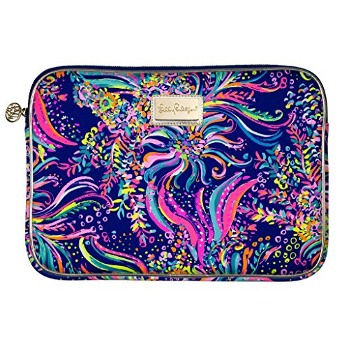 Pulitzer Lilly Colors - Lilly Pulitzer Women's Tech Sleeve Beach Loot Multi, Fits up to 13in laptops