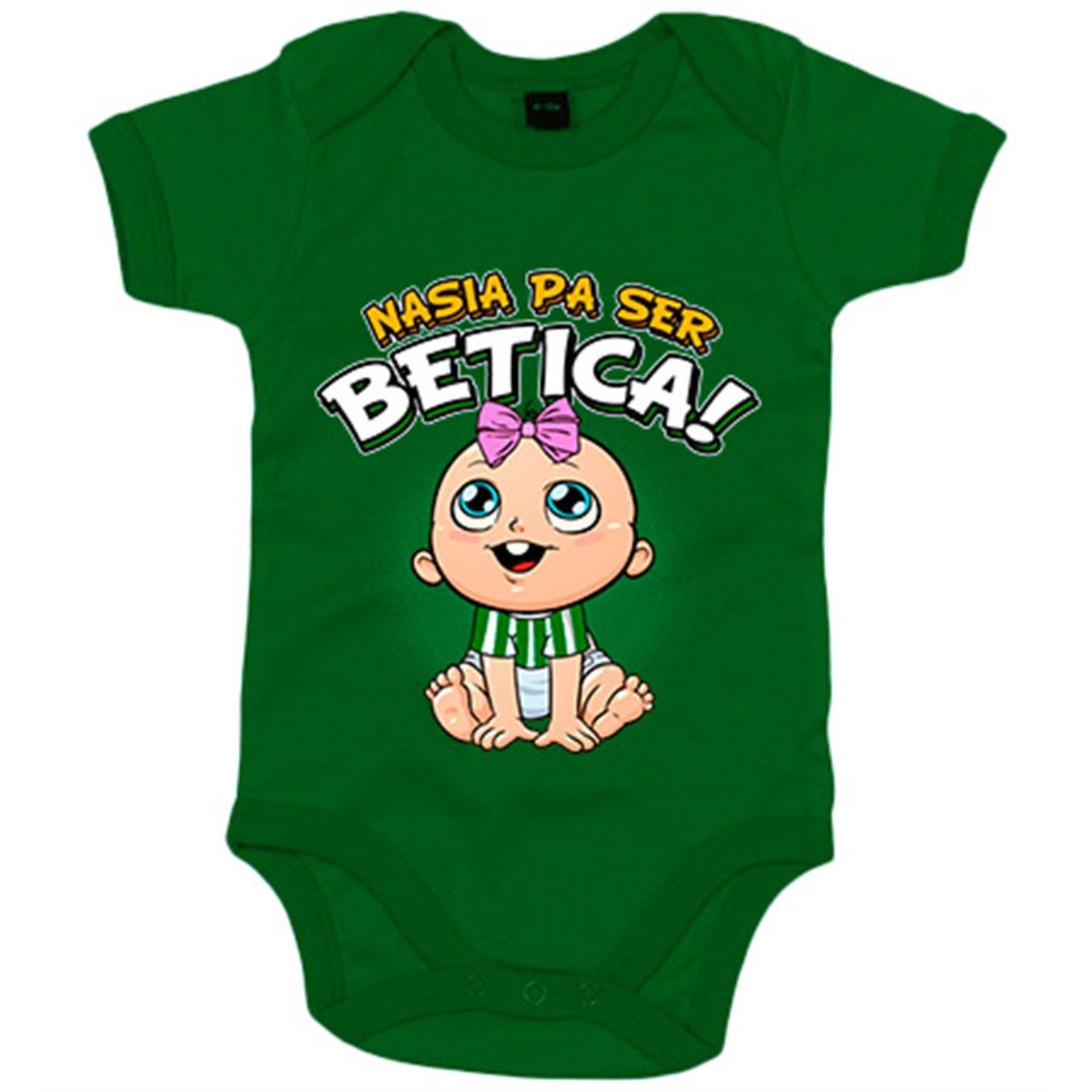 Body bebé nacida para ser Bética Betis fútbol - Blanco, 6-12 meses: Amazon.es: Bebé