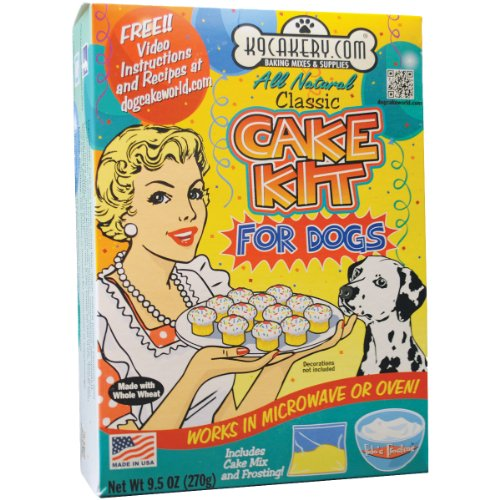 K9Cakery All Natural Cake Kit for Dogs, My Pet Supplies