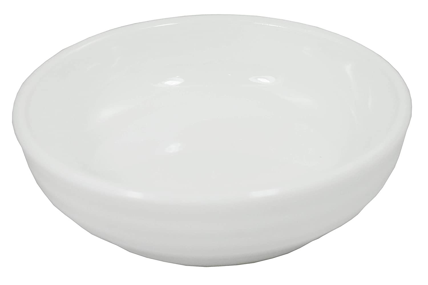 (Pack of 12) Super White Round Ribbed Porcelain Sauce Dishes OT-3328 61aGJQhle-L