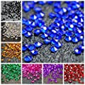 10000 pcs/pack Wedding Table Scatter Confetti Crystals Acrylic Diamonds 4.5 mm Rhinestones for Wedding, Bridal Shower, Vase Beads Decorations