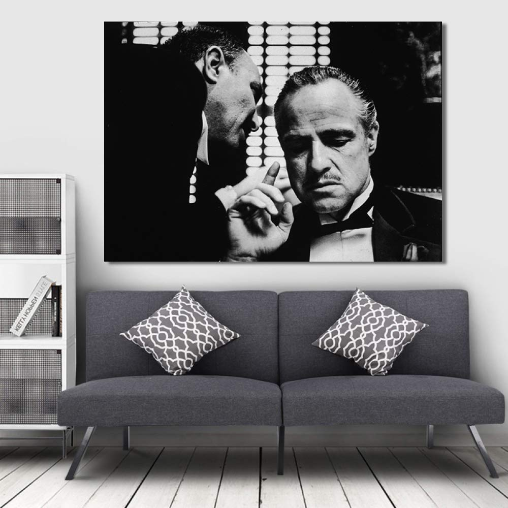 Godfather Movie Modern Contemporary Canvas Wall Art Picture