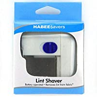 HABEE SAVERS Fabric Lint Shaver Battery Operated