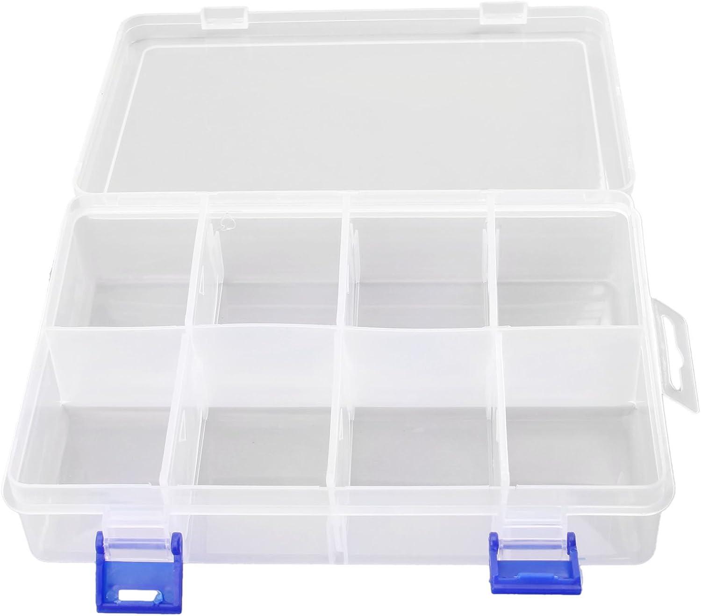 Storage Organisers MUXSAM 1pc 8 Slots 2 Buckle Plastic Home ...
