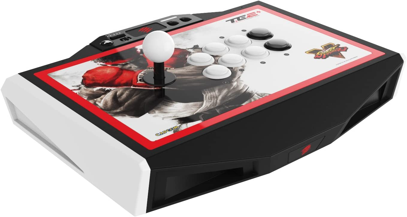 Mad Catz Street Fighter V Arcade FightStick TE2+ for PlayStation4 and PlayStation3 by Mad Catz: Amazon.es: Videojuegos