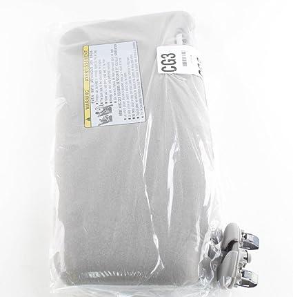 Amazon.com  Genuine Toyota Front Gray Left Side Sun Visor Without Vanity  Light  Automotive e1422bd7819