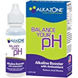 Alkazone Alkaline Booster Drops with Antioxidant, 1.2 Fluid Ounce (Pack of 2)