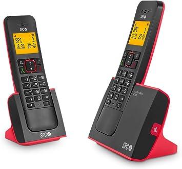 SPC Blade Duo teléfonos inalámbricos con Agenda, identificador de Llamadas, Manos Libres y luz en Pantalla: Spc: Amazon.es: Electrónica