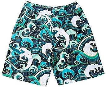 Greetuny Padre e Hijo Ba/ñadores Conjunto Playa Verano Traje de ba/ño Hombre Natacion Pantalones Cortos
