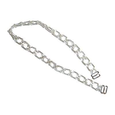 FLOWER CHAIN BEADED STRAPS: Clothing