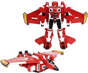 MINI FORCE 2018 New Version Miniforce X SEMIBOT Transforming Commando X-Machine Airplane from Robot