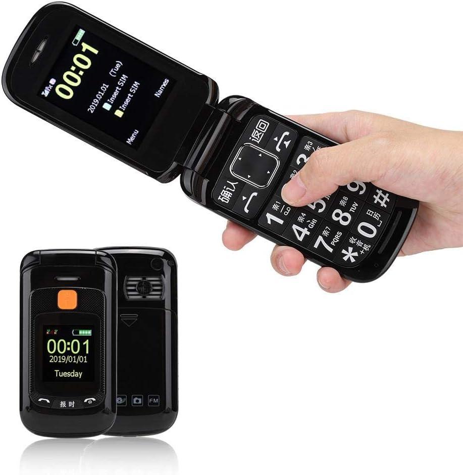 Oumij Flip Phone - Teléfono Móvil para Ancianos: Amazon.es ...