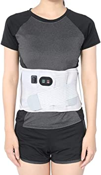 110-240v Manta Eléctrica Lumbar Almohadilla Eléctrica con 3 Niveles de Temperatura para Artritis en la Zona de la Espalda, Abdominal, Dolor, de la Terapia de Calor Wrap: Amazon.es: Salud y cuidado personal