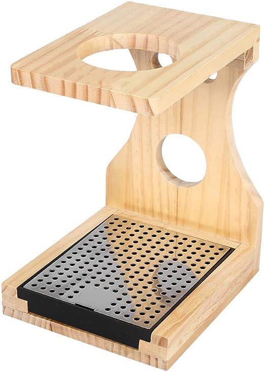 Soporte para filtro de café – Elegante soporte de madera para ...