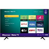 "Hisense 50R6000GM Serie R6 50"" 4K Uhd, Smart TV, Roku TV, Hdr10, Roku Search, (2020) (50"")"