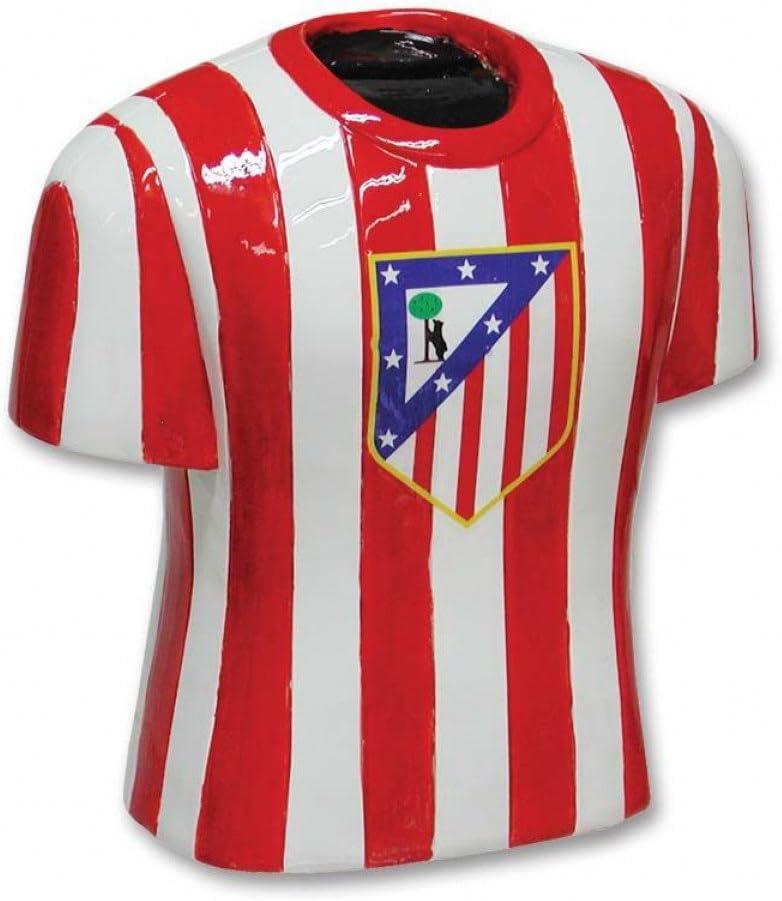 Hucha camiseta Atletico de Madrid resina: Amazon.es: Juguetes y juegos