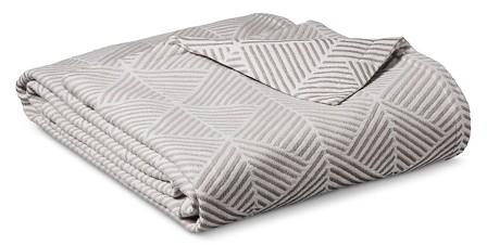 Ringspun Cotton Fashion Blanket - Threshold™ : Target