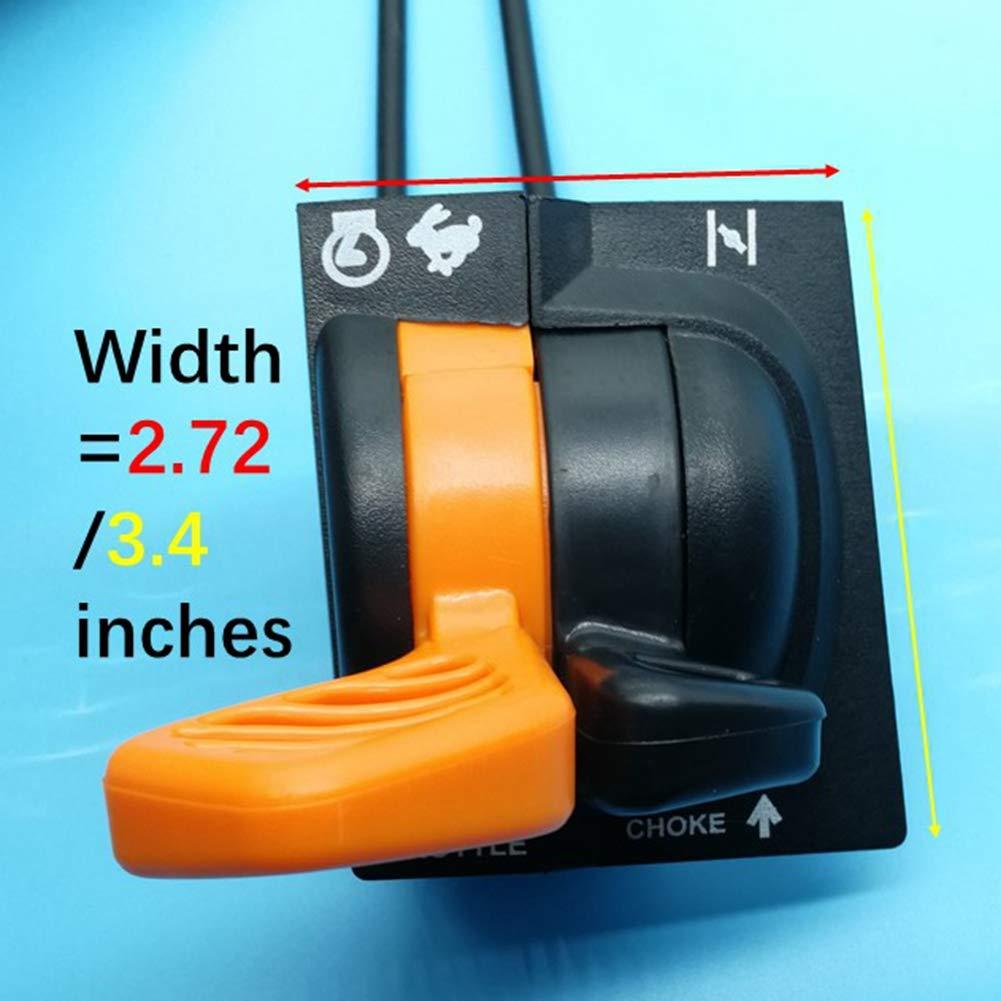 Tuzliufi Replace Throttle Choke Cable Control Assembly John Deere AM136026 x500 x520 x540 New Z336