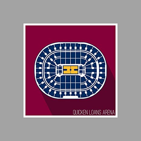 Amazon.com: Cleveland - Quicken Loans Arena - Basketball ... on