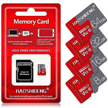 LJ2 Tarjeta de Memoria, Tarjeta Micro SD de 8GB/16GB/32GB/64GB ...