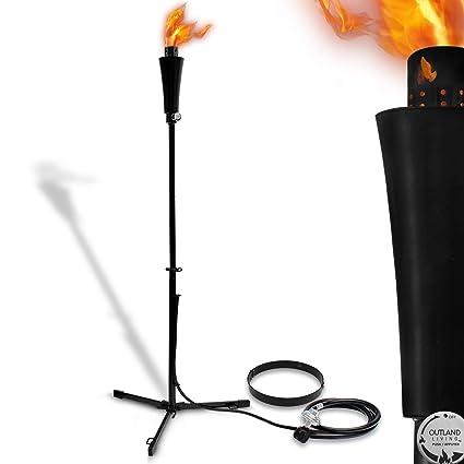 Amazon outdoor gas propane torch 71 inch 7 000 btu portable outdoor gas propane torch 71 inch 7000 btu portable ambient yard lights for pathway aloadofball Choice Image