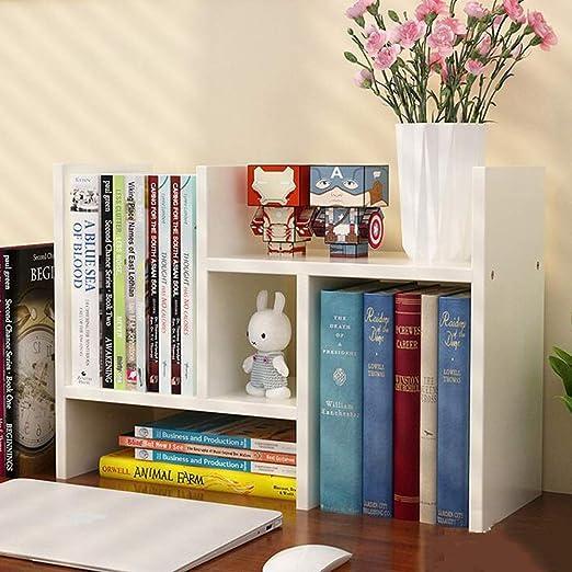 Bookcases, Cabinets & Shelves Estantería de Escritorio de Almacenamiento para Libros, Organizador, Expositor de Libros, Soporte de Mesa CJC: Amazon.es: Juguetes y juegos