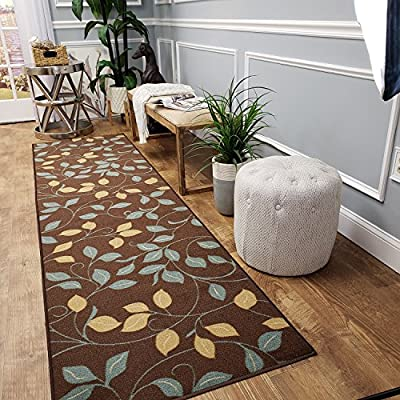 Rug Runner Non-Slip (Non-Skid) Rubber Back Runner Rugs for Hallways Stairs Kitchens Entryways, 26-inch WIDE - Our runners are custom cut in the size you choose and come with finished/binded edges/ends. The width 26 INCHES WIDE and you can CHOOSE THE LENGTH up to 50 feet! We also have 22 inch & 31 Inch wide version in our Amazon store. Anti-Slip backing is great for stairs and hallways! - runner-rugs, entryway-furniture-decor, entryway-laundry-room - 61aGVLSsfEL. SS400  -
