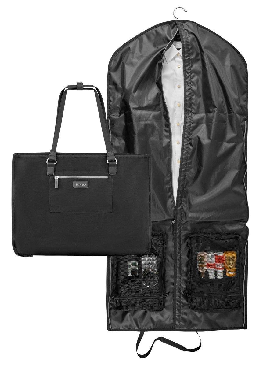 Biaggi Luggage Hangeroo Two-In-One Garment Bag + Tote