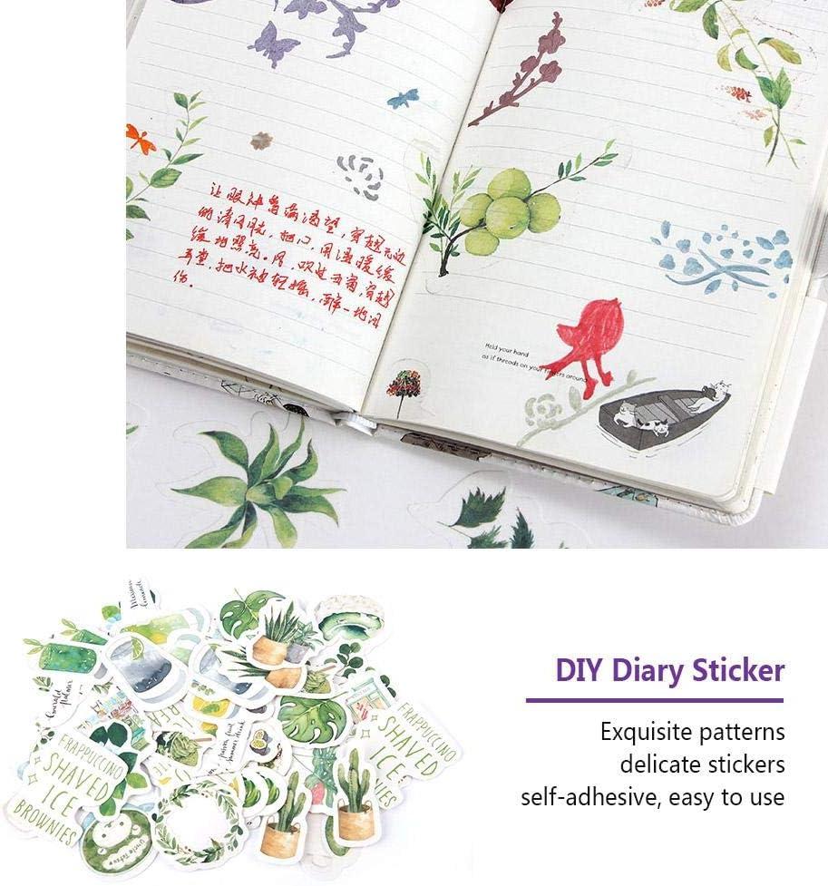 Hilitand 46 unids Pegatinas Planificador /Álbum Diario Calendario Diario Cuaderno Manual Scrapbooking DIY Etiqueta C01057