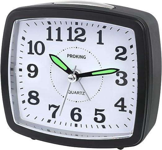 REN Deal Despertador Analógico de Viaje,Reloj de Alarma para Niños ...