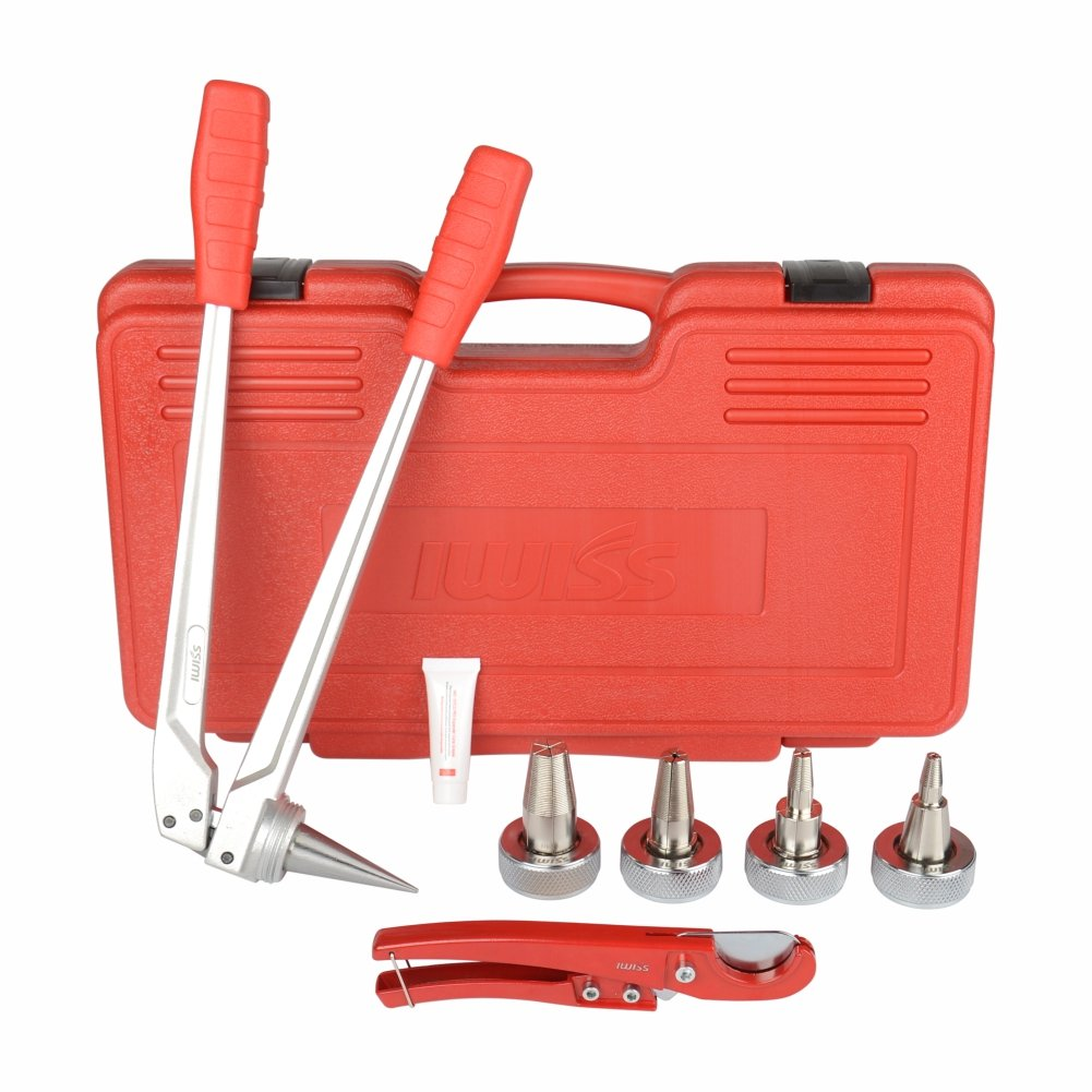"""1/"""" Uponor Wirsbo ProPEX F1960 PEX Expander Tool Kit For 1//2/"""" 3//4/"""""""