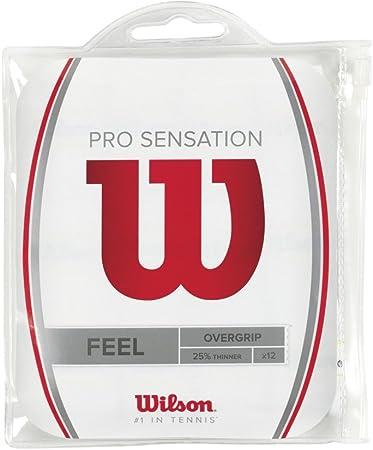 Wilson Pro Overgrip Sensation Empuñadura, Unisex: Amazon.es ...