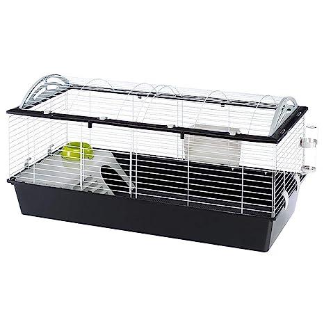 Ferplast Jaula espaciosa para Conejos CASITA 120 para Conejillos ...