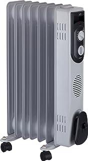 Jata R107 Radiador de Aceite con 7 Elementos caloríficos, 1500 W, Blanco